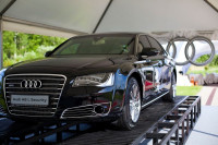 Презентация Audi в Летнем Дворце