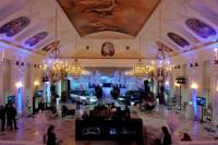 Презентация Range Rover в Летнем Дворце